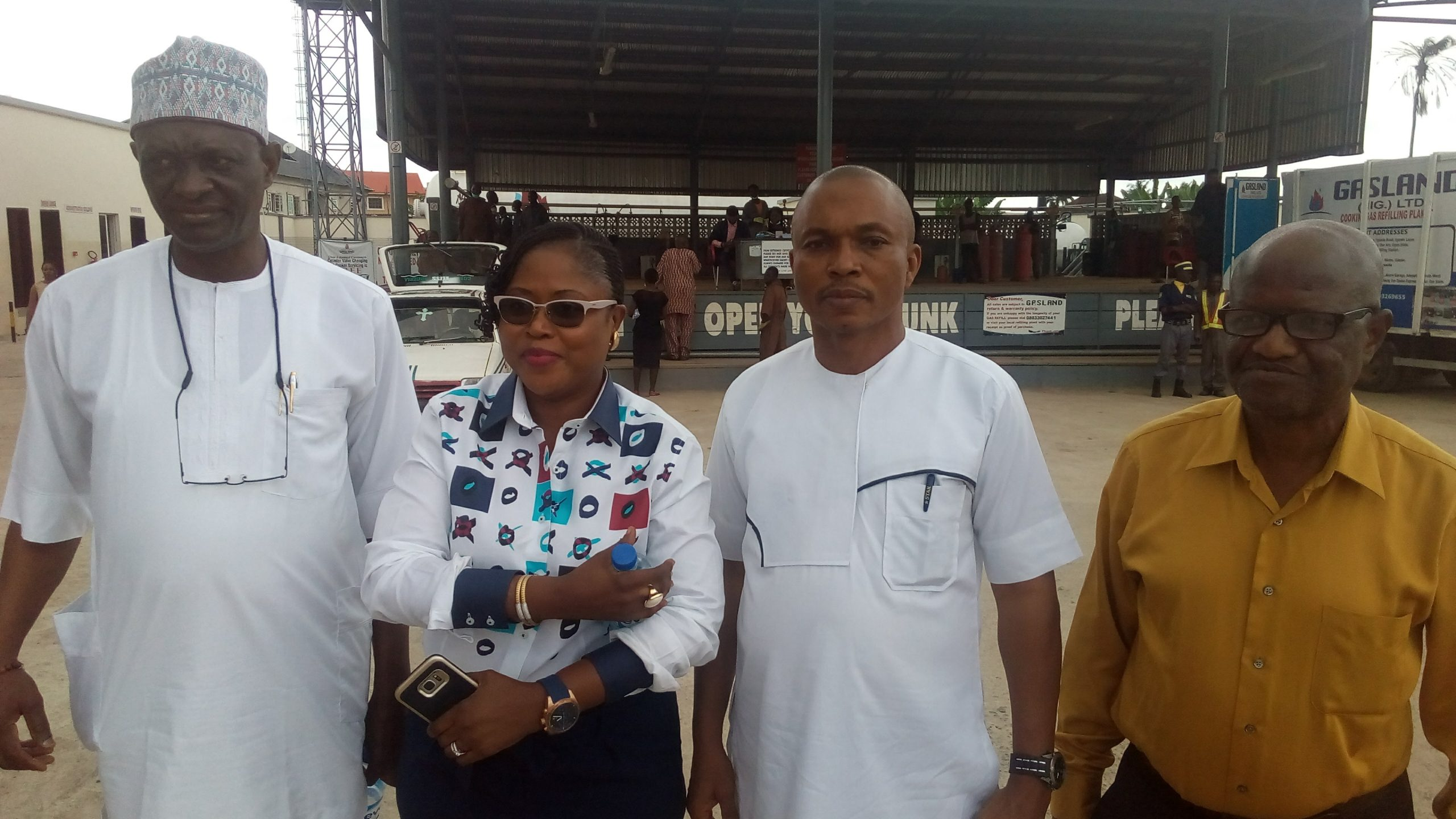 Thank you visit to Ibadan Stakeholders by outgoing President