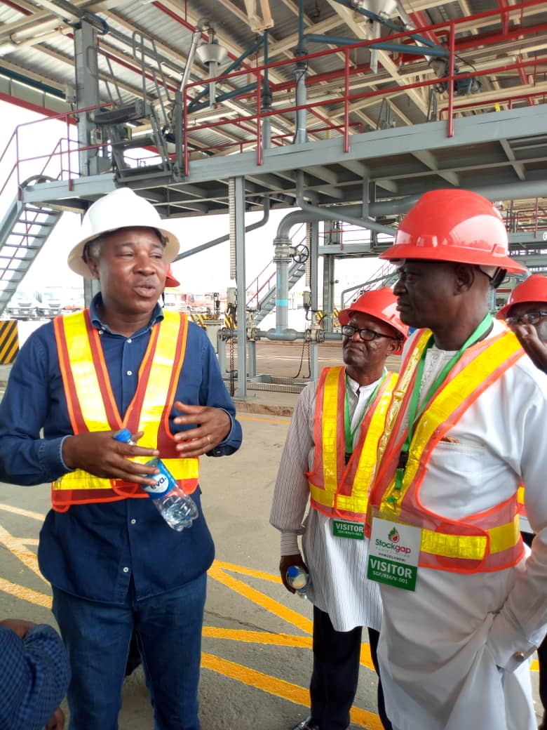 Visit to StockGas Limited Port Harcourt