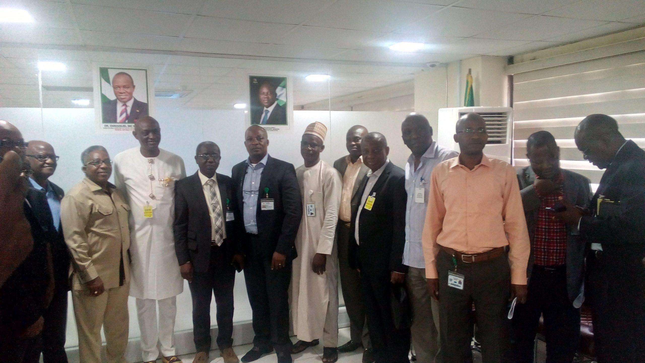 Visit by Governing Council of Nalpgam to Management of Department of Petroleum Resources, DPR